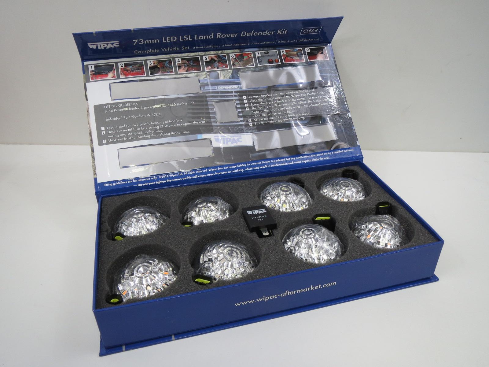 Led Leuchtensatz Defender 98 Land Rover Fuse Box